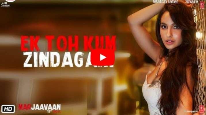 Marjaavaan Song- India TV