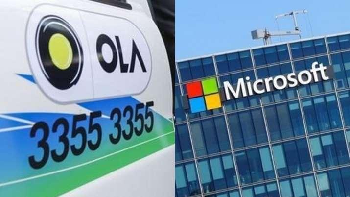 ola Microsoft partnership- India TV Paisa