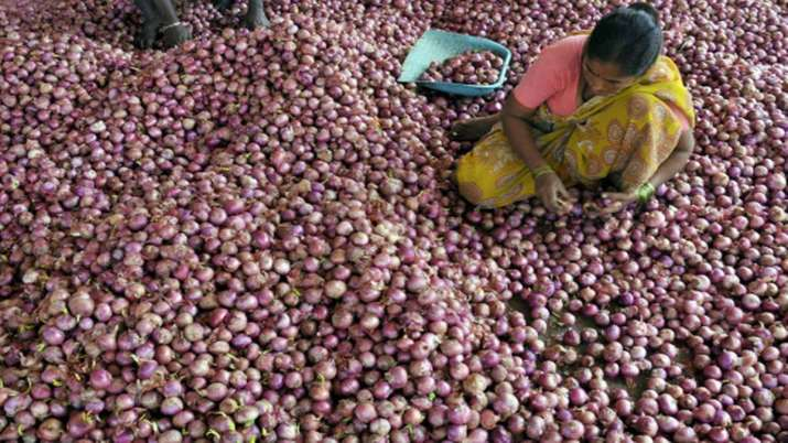 Wholesale onion prices fall below Rs 30/kg at Lasalgoan after govt measures- India TV Paisa