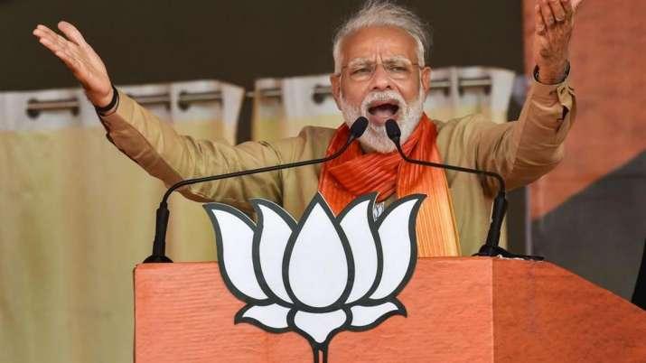 कांग्रेस ने अपनी गलत नीतियों से देश को बर्बाद किया: मोदी- India TV