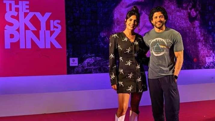 Farhan Akhtar and Priyanka Chopra in The Sky Is Pink- India TV