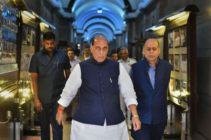 Defence Minister Rajnath Singh - India TV