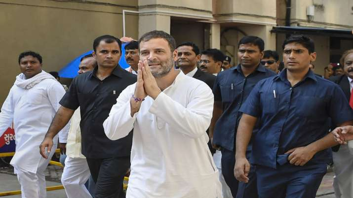 Bail plea of Rahul Gandhi accepted by Gujarat court in...- India TV