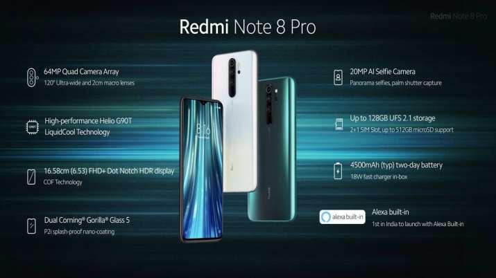 Xiaomi Redmi Note 8 Pro- India TV Paisa
