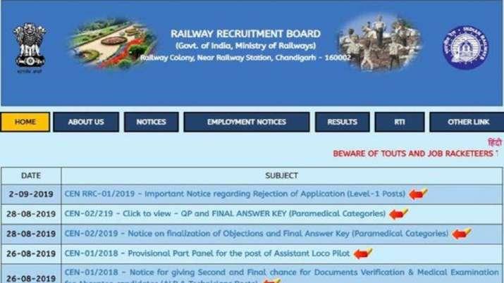 rrb ntpc 2019 exam date- India TV