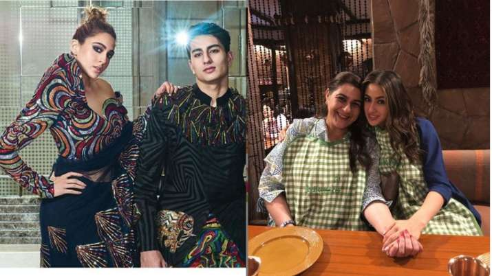 Sara ali khan, ibrahim ali khan and Amrita singh- India TV