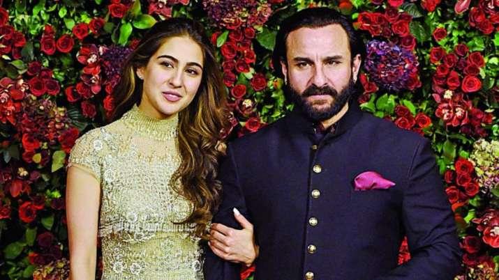 Sara ali khan and Saif ali khan- India TV