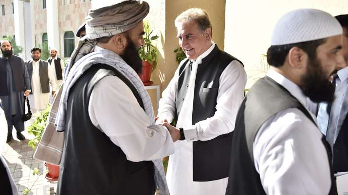 Taliban delegation meets Qureshi to push for revival of Afghan peace process | AP- India TV