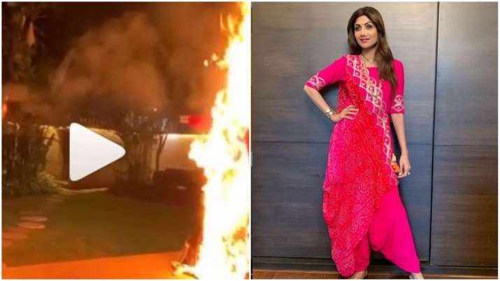 shilpa shetty dussehra Celebration- India TV
