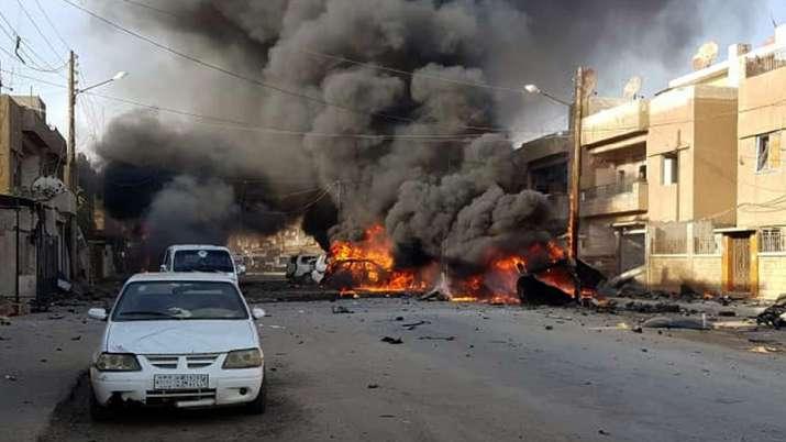 Turkey says border town of Ras al-Ain seized, Syria denies   AP- India TV
