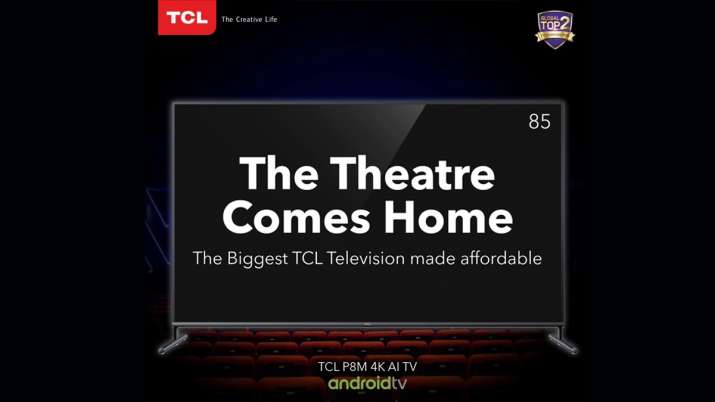 TCL 85P8M is priced at Rs. 1,99,999- India TV Paisa