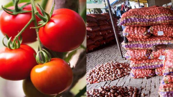 tomato onion prices increase- India TV Paisa