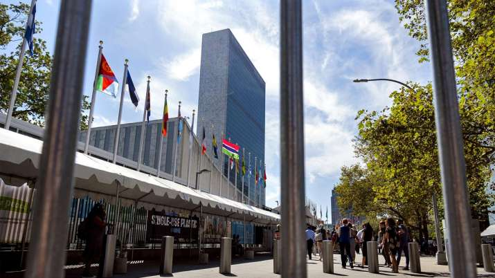 India slams Pakistan for raising Kashmir issue at United Nations   AP File- India TV