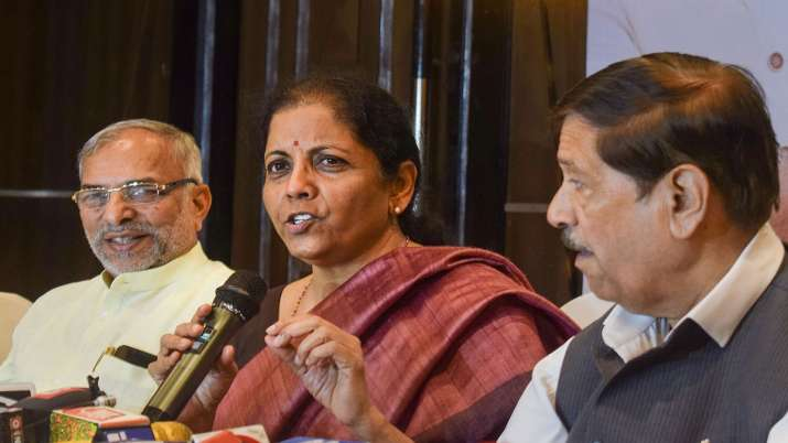 Union Finance Minister Nirmala Sitharaman- India TV Paisa