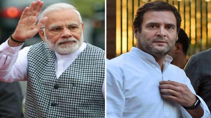 Narendra Modi Rahul Gandhi- India TV