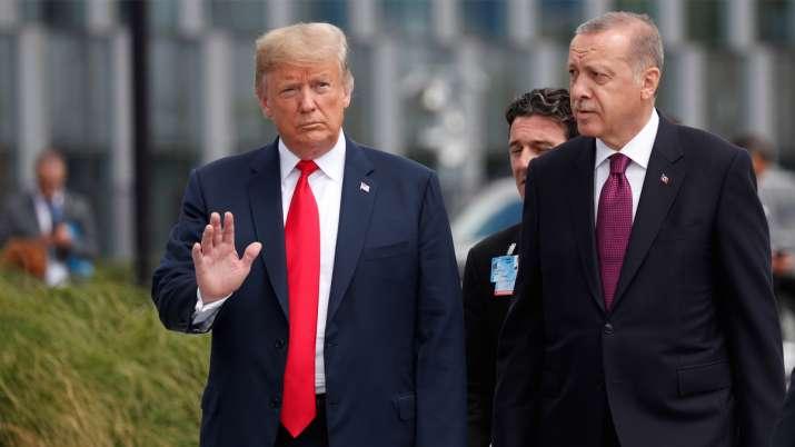 अमेरिका ने दी तुर्की पर प्रतिबंध लगाने की धमकी, एर्दोआन ने कहा-नहीं रोकेंगे सीरिया में कार्रवाई- India TV