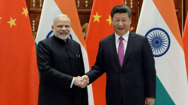 Narendra Modi And XI Jinping Meeting - India TV