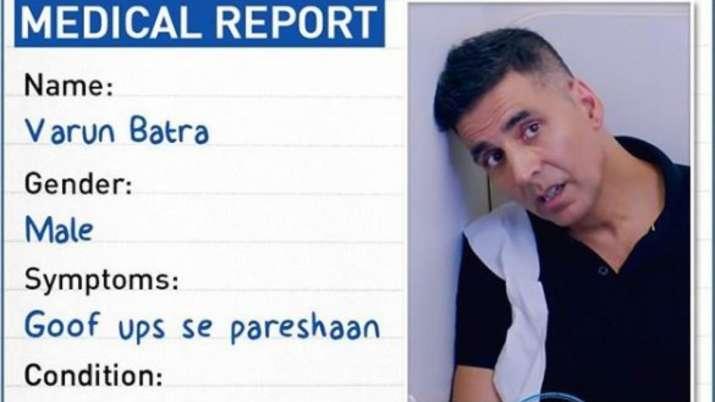akshay kumar medical report from good newwz- India TV