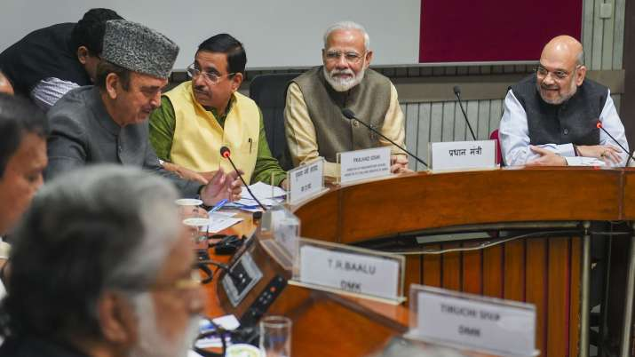 All party meeting- India TV