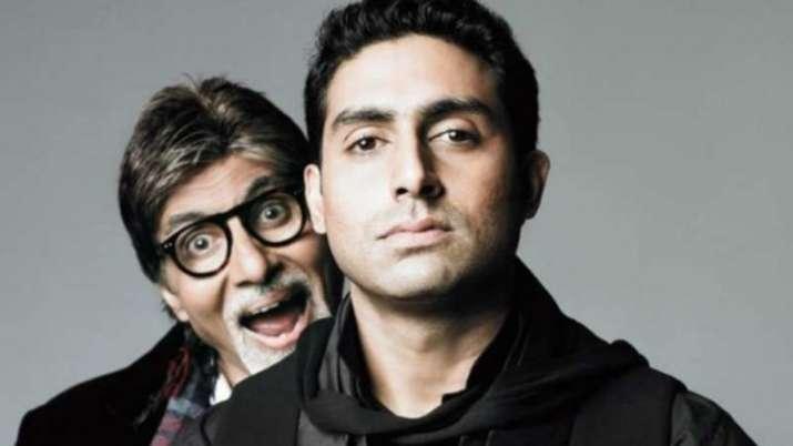 Amitabh bachchan and abhishek bachchan- India TV