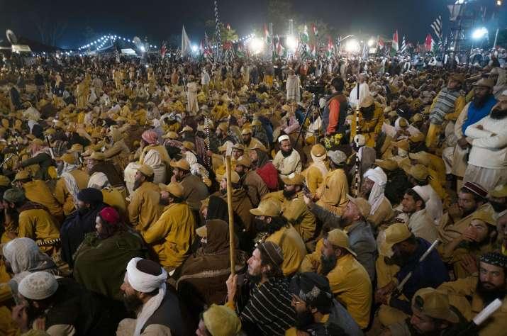 Protest in Pakistan- India TV