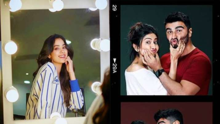 arjun kapoor, rakul preet singh and janhvi kapoor- India TV