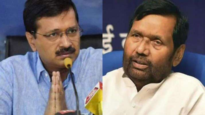 Arvind Kejriwal and Ramvilas Paswan- India TV