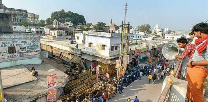 Ayodhya verdict date ahead Home Ministry issues advisory...- India TV