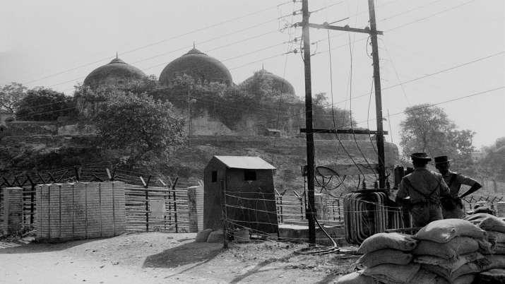 ayodhya ram mandir verdict faisla ( Nov. 1990 file photo, a view of Babri Masjid)- India TV