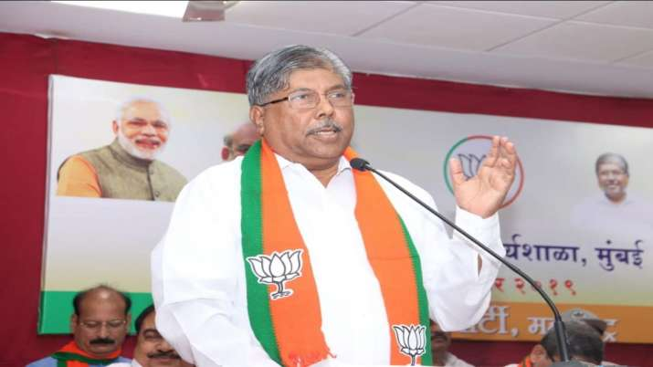 With 119 MLAs we will form BJP government in Maharashtra says Chandrakant Patil- India TV