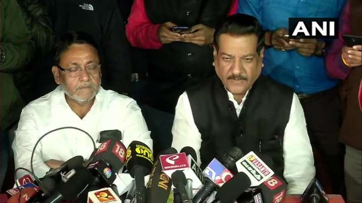 Congress NCP still undecided on government formation with Shivsena- India TV