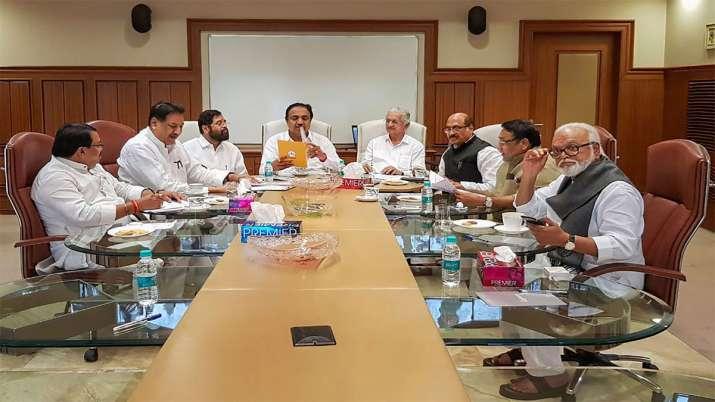 Congress NCP Shiv Sena Meeting- India TV