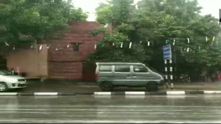Delhi rain- India TV
