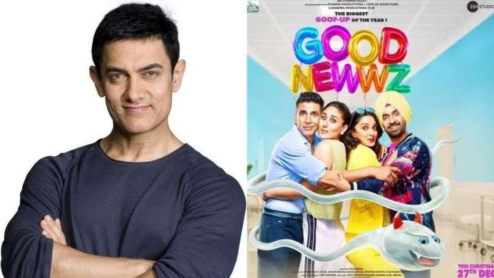 aamir khan shares good newwz tariler- India TV