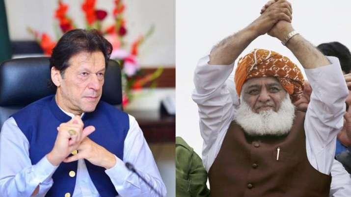 Azadi March, Maulana Imran, Maulana Fazlur Rehman, Maulana, Fazlur Rehman Imran Khan- India TV