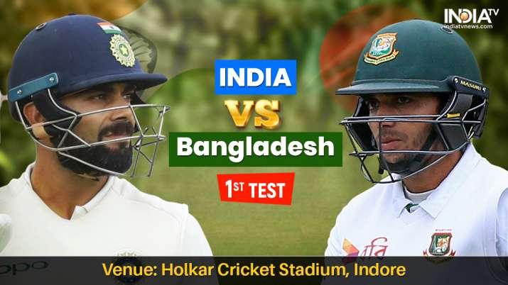 भारत बनाम बांग्लादेश लाइव क्रिकेट स्ट्रीमिंग, भारत बनाम बांग्लादेश फर्स्ट टेस्ट मैच स्ट्रीमिंग ऑनलाइ- India TV