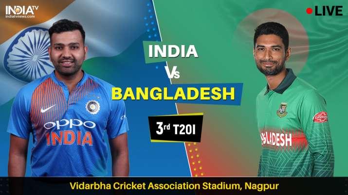 India vs Bangladesh 3rd T20I on Star Sports, Hotstar, DD Sports, Jio TV - बांग्लादेश के क्रिकेट प्रे- India TV