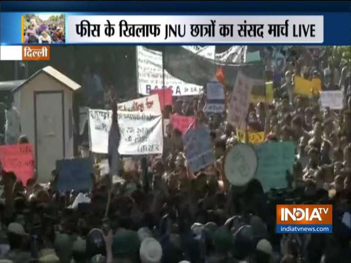 JNU SU- India TV
