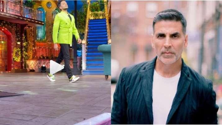 riteish deshmukh imitate akshay kumar- India TV
