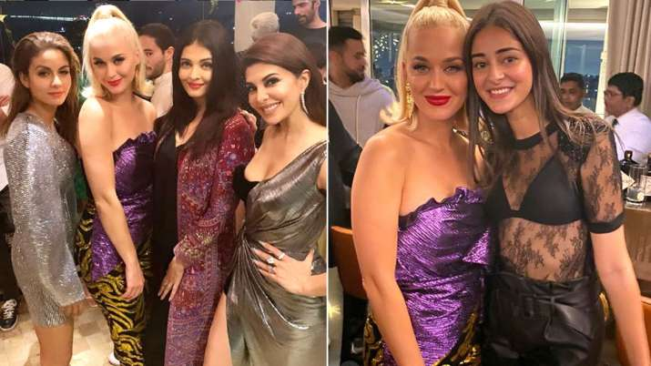 Katy Perry in Karan Johar Welcome Party- India TV