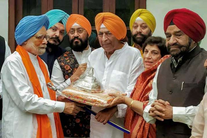 'Chhatra', 'rumala 'for Kartarpur Sahib handed over to...- India TV