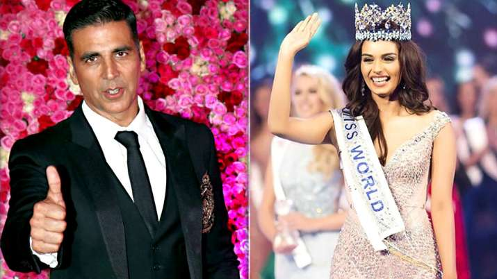 Akshay Kumar and Manushi Chillar- India TV
