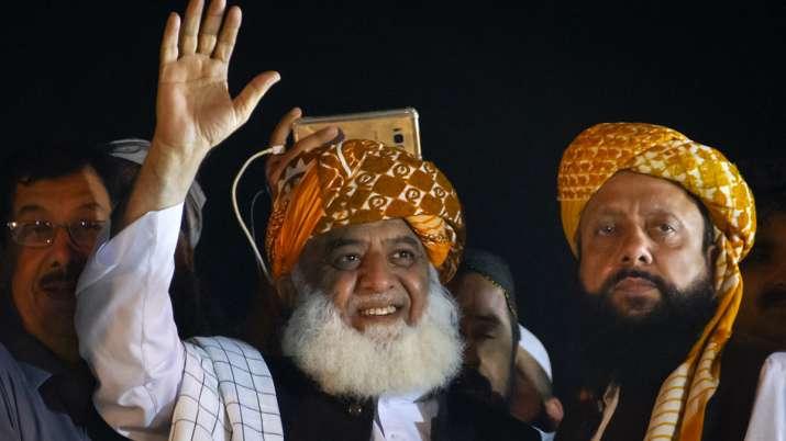 Azadi March, Maulana Imran, Maulana Fazlur Rehman, Maulana, Imran Khan, Pakistan- India TV