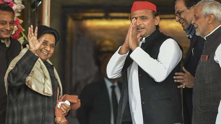 SP BSP Alliance, Samajwadi party, Bahujan Samaj Party, Uttar Pradesh, Mayawati, Akhilesh Yadav- India TV
