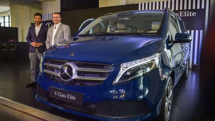 Mercedes-Benz rolls out V-Class Elite at Rs 1.10 cr- India TV Paisa