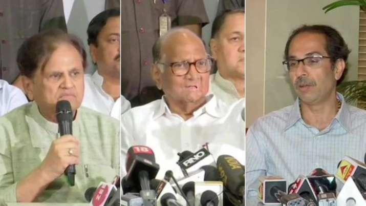 महाराष्ट्र में सरकार गठन पर गतिरोध जारी, एनसीपी-कांग्रेस ने शिवसेना पर फोड़ा पूरा ठीकरा- India TV