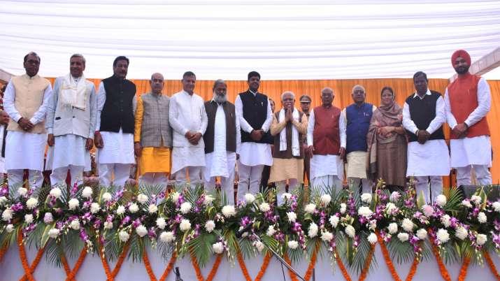 New Haryana Cabinet- India TV