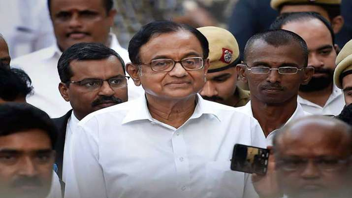 P. Chidambaram- India TV