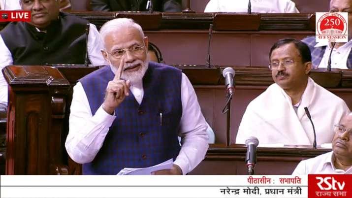 PM Modi Rajya Sabha Speech - India TV
