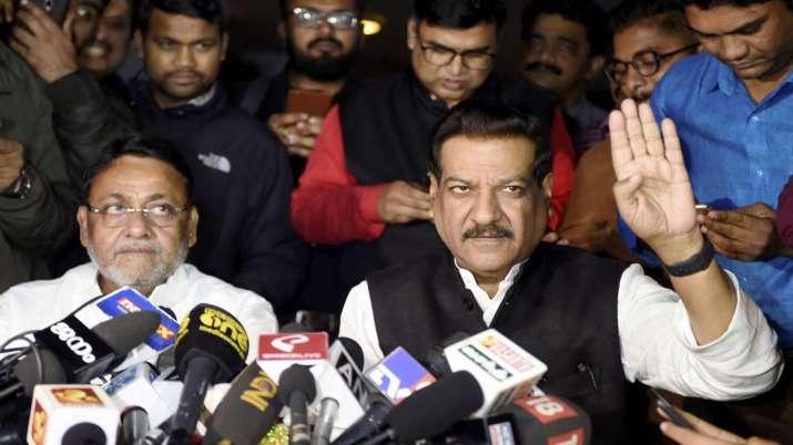 Nationalist Congress Party, NCP, Nawab Malik, Congress, Prithviraj Chavan, Maharashtra government- India TV